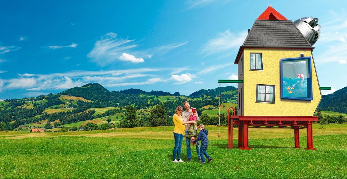 Familien-Hypothek ohne Text
